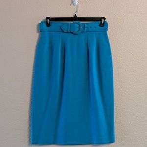 Vintage High-waisted Pencil Skirt